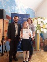 Sukces Oli Stanek w konkursie pięknego czytania